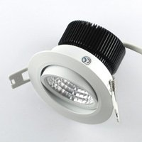 Mini spot LED orientable de 3W en 230V