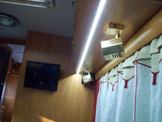 ruban led camping car