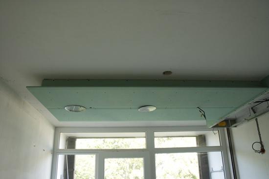 Eclairage cuisine plafond clairage cuisine faux plafond for Suspension faux plafond