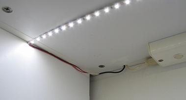 Connexion bandeau de LED