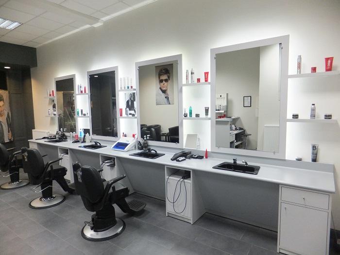 Incroyable Salon De Coiffure Ultra Moderne ~ Idées de Design Maison ...