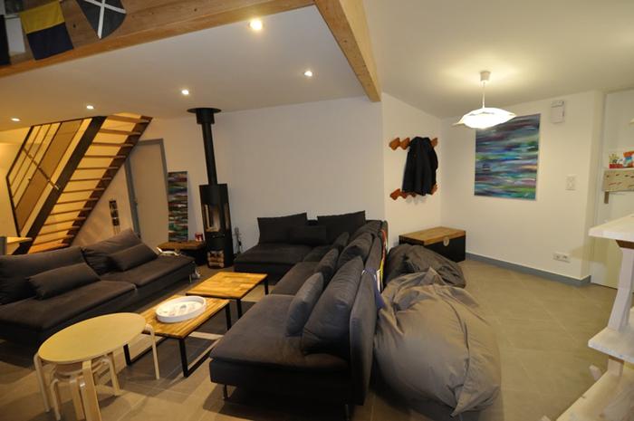 spots led encastrables de 7w dans un salon led 39 s go. Black Bedroom Furniture Sets. Home Design Ideas