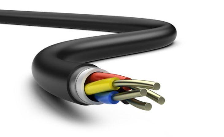 Section câble électrique