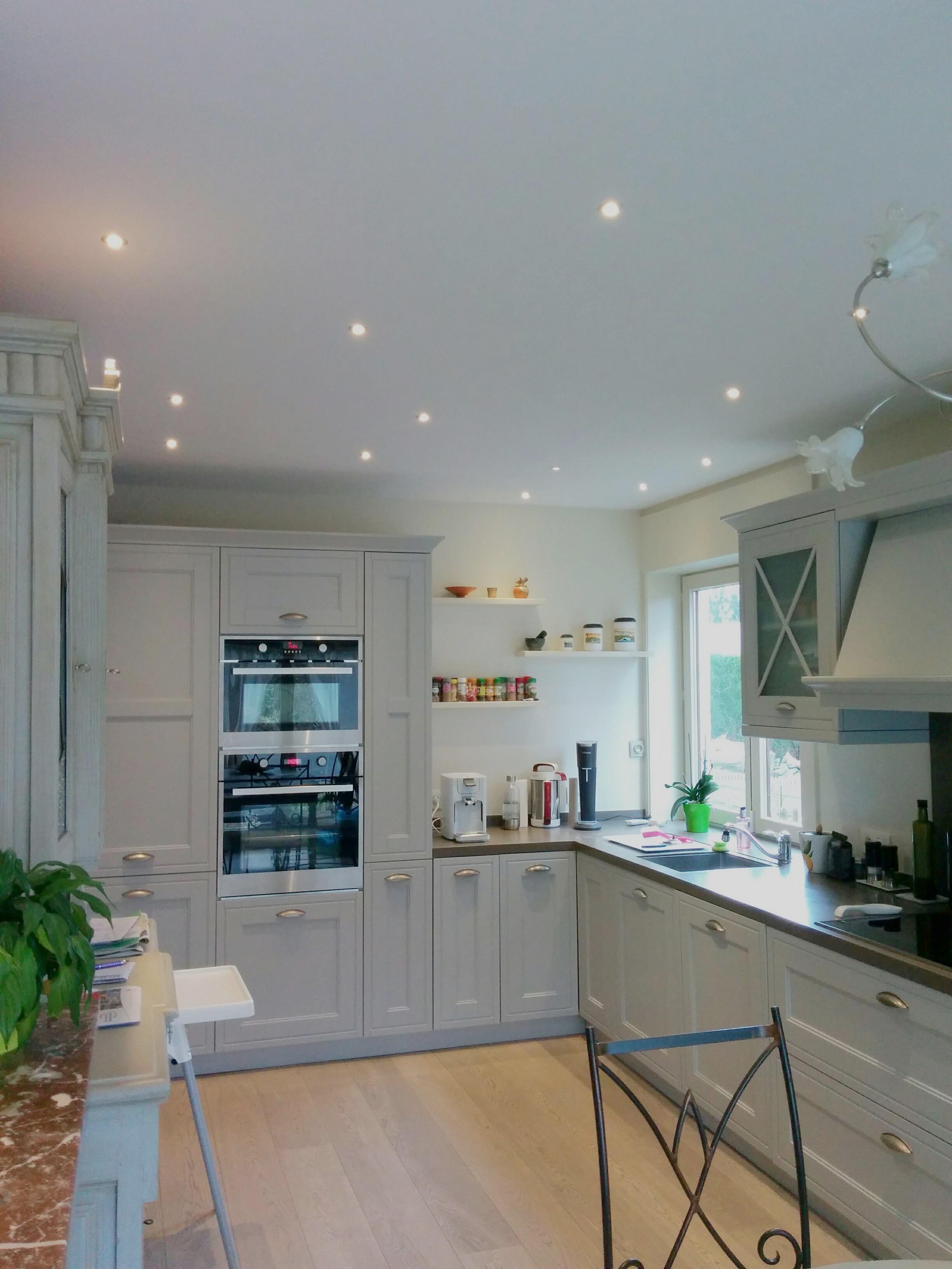 Mini spots plafond cuisine - LED\'s Go