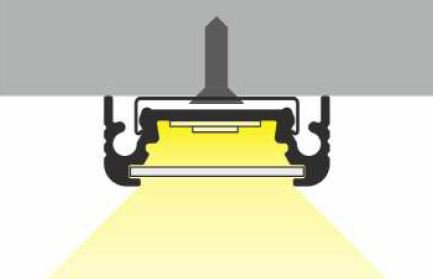 Monter un barre LED