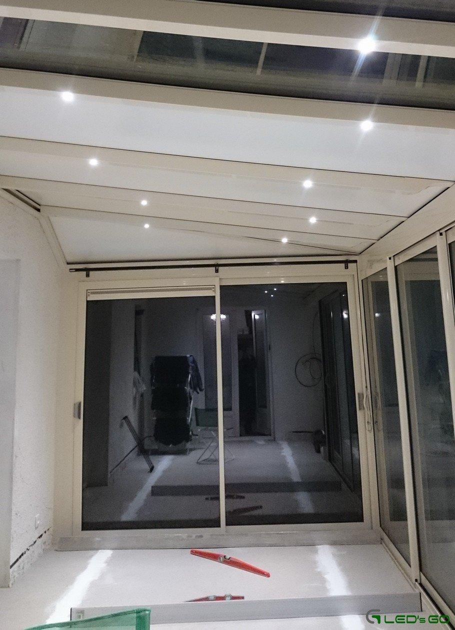 Bandeau Led Encastrable Plafond eclairer votre véranda avec des led - led's go